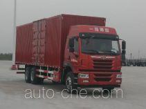 解放牌CA5250XXYP2K2L7T1E5A80型厢式运输车