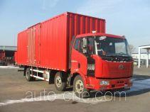 解放牌CA5250XXYP62K1L8T3E5型厢式运输车