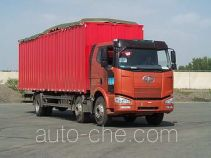 FAW Jiefang CA5250XXYP63K2L6T3A2E diesel cabover box van truck with canopy top