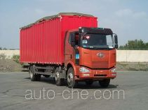 FAW Jiefang CA5250XXYP63K2L6T3A2HE diesel cabover box van truck with canopy top