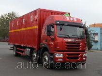 解放牌CA5252XRYP1K2L7T3E5A80型易燃液体厢式运输车