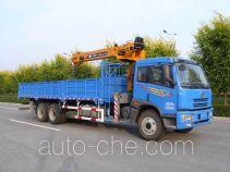 FAW Jiefang CA5253JSQA70E3 truck mounted loader crane