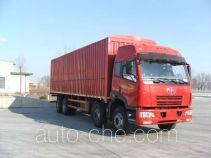 FAW Jiefang CA5282XXYP21K2LT4C soft top box van truck
