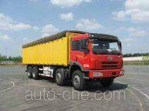 FAW Jiefang CA5282XXYP2K2L1T4E soft top box van truck