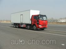FAW Jiefang insulated box van truck
