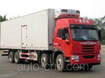 FAW Jiefang CA5310XLCP1K2L7T4E4A80 refrigerated truck