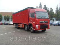 FAW Jiefang CA5310XXYP2K15L7T4EA80-2 soft top box van truck