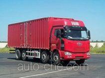 FAW Jiefang CA5310XXYP63K1L6T10A1E diesel cabover box van truck