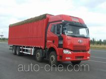 FAW Jiefang CA5310XXYP66K2L7T4A2E1 diesel cabover box van truck with canopy top