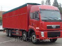 FAW Jiefang CA5315XXYP2K2L7T4BEA80-2 soft top box van truck