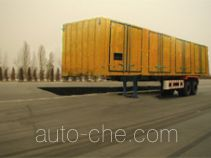 FAW Jiefang CA9210XXY box body van trailer