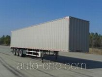 FAW Jiefang CA9400XXY box body van trailer
