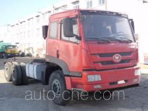 FAW FAC Linghe CAL3250P1BT1E4 diesel cabover dump truck chassis