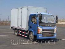 FAW FAC Linghe CAL5040XXYDCTE4 box van truck