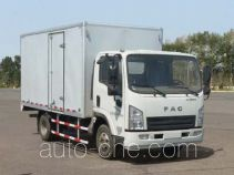 FAW FAC Linghe CAL5041XXYDCRE5 box van truck