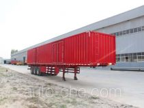 Hengtong Liangshan CBZ9400XXY box body van trailer