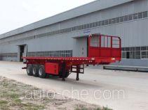Hengtong Liangshan CBZ9400ZZXP flatbed dump trailer