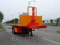 Huaxing CCG9350ZZXP flatbed dump trailer