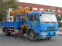 Huanling CCQ5160JSQ truck mounted loader crane