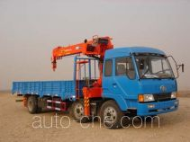 Huanling CCQ5170JSQ truck mounted loader crane