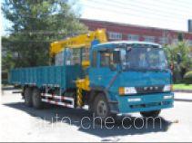 Huanling CCQ5252JSQ truck mounted loader crane