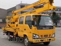 Qingyan CDJ5060JGKZ14QL aerial work platform truck