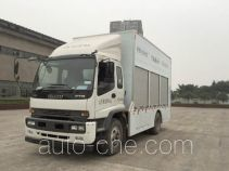 Guotong CDJ5130TWJ40 sewage suction truck with solid and wet waste separation