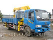 Guotong CDJ5140JSQJF truck mounted loader crane