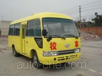 华西牌CDL6606XCDC型小学生校车