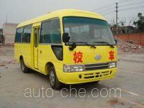 华西牌CDL6606XCDT型小学生校车