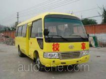 华西牌CDL6701XCDC型小学生校车