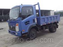 王牌CDW4010D2A4型自卸低速货车