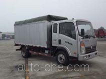 Sinotruk CDW Wangpai CDW5042CPYHA1P4 soft top box van truck