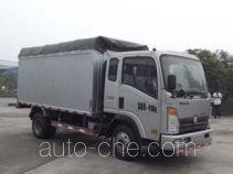 Sinotruk CDW Wangpai CDW5044CPYHA1A4 soft top box van truck