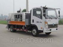 王牌牌CDW5070THB型车载式混凝土泵车