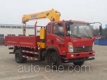 Sinotruk CDW Wangpai CDW5121JSQHA2R4 truck mounted loader crane