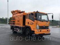 Бетононасос на базе грузового автомобиля Sinotruk CDW Wangpai