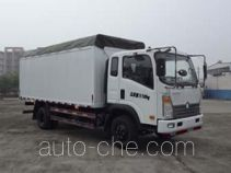 Sinotruk CDW Wangpai CDW5152CPYA1C4 soft top box van truck