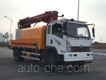 Sinotruk CDW Wangpai concrete spraying truck