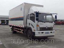 Sinotruk CDW Wangpai CDW5090XXYA1R4 box van truck
