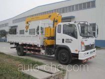 Sinotruk CDW Wangpai CDW5162JSQA1C4 truck mounted loader crane