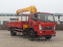 Sinotruk CDW Wangpai CDW5161JSQA2C4 truck mounted loader crane