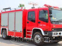 西奈克牌CEF5130TXFJY120/W型抢险救援消防车