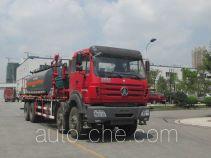 Shuangyan CFD5330TGY oilfield fluids tank truck