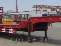 旭达牌CFJ9261TDP型低平板半挂车