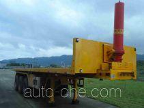 Changfeng CFQ9401ZZXP flatbed dump trailer