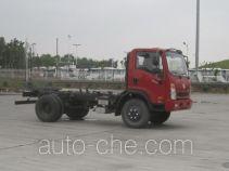 大运牌CGC2040HDC34D型越野自卸汽车底盘