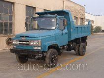 川路牌CGC4010CD11型自卸低速货车