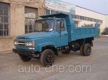 川路牌CGC4010CD13型自卸低速货车