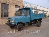 川路牌CGC4010CD9型自卸低速货车